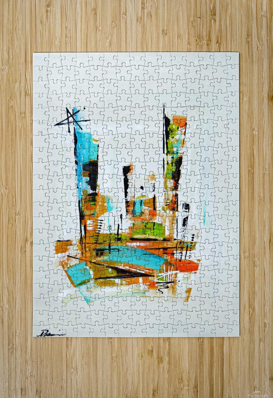 Primavera III  HD Metal print with Floating Frame on Back