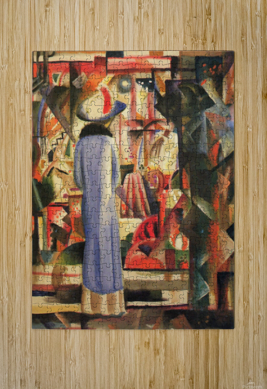 Large bright showcase by Macke  HD Metal print with Floating Frame on Back