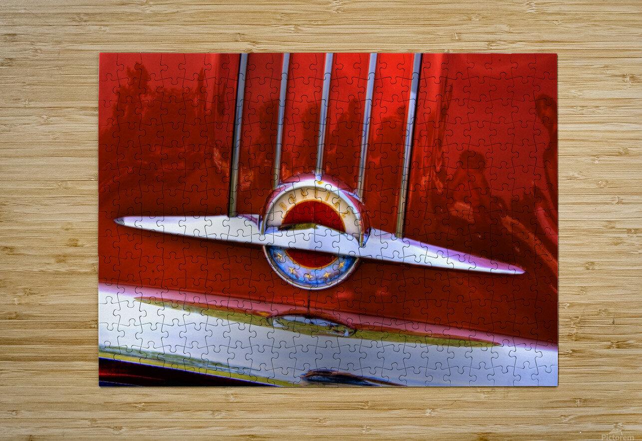 Pontiac  HD Metal print with Floating Frame on Back