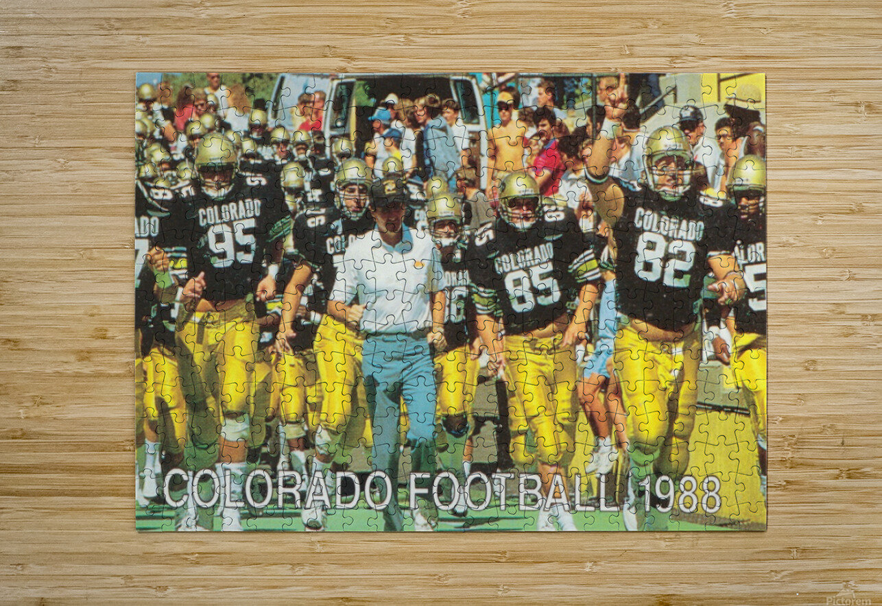 1988 colorado football  HD Metal print with Floating Frame on Back