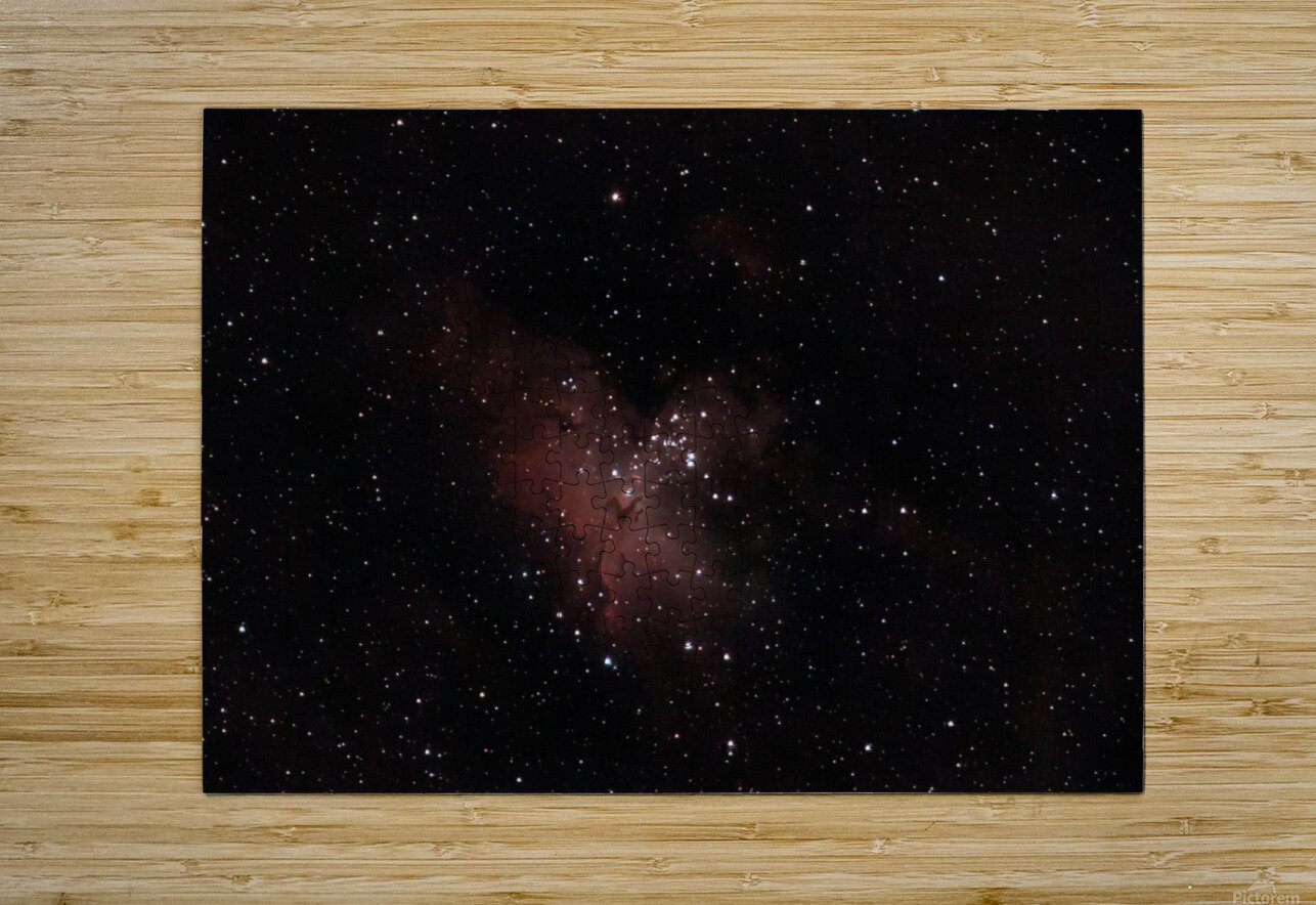 Eagle Nebula  HD Metal print with Floating Frame on Back