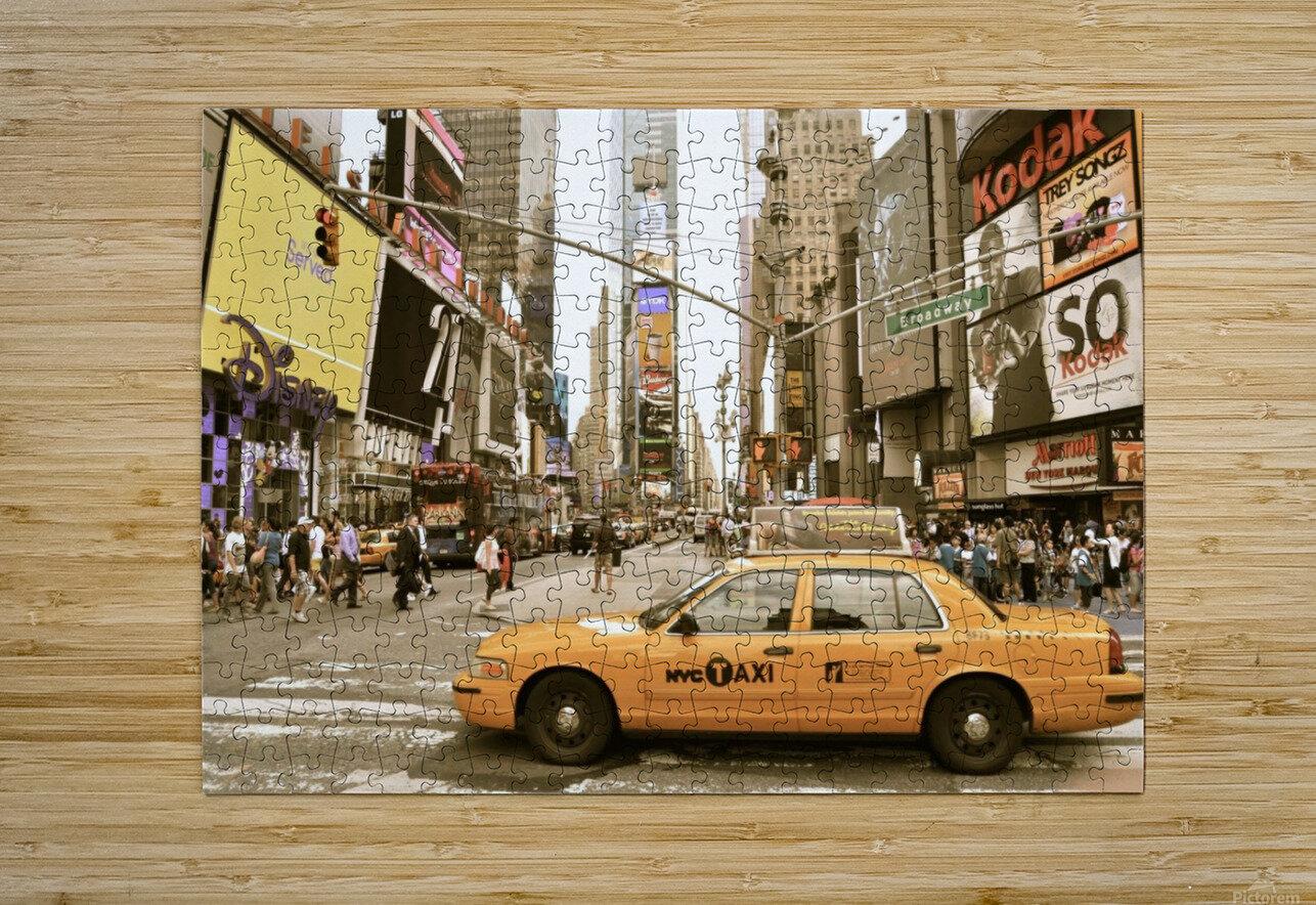Newyork newyork  HD Metal print with Floating Frame on Back