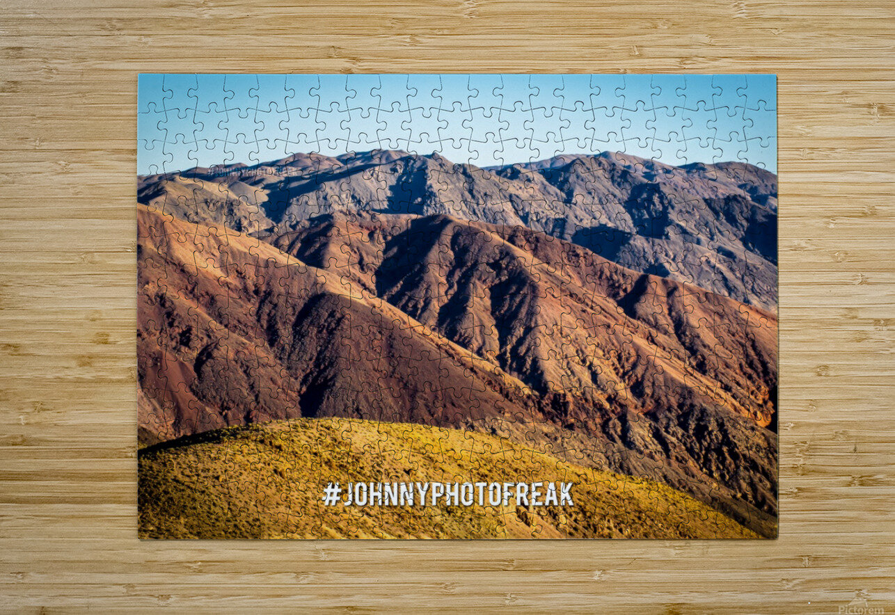Death Valley  HD Metal print with Floating Frame on Back