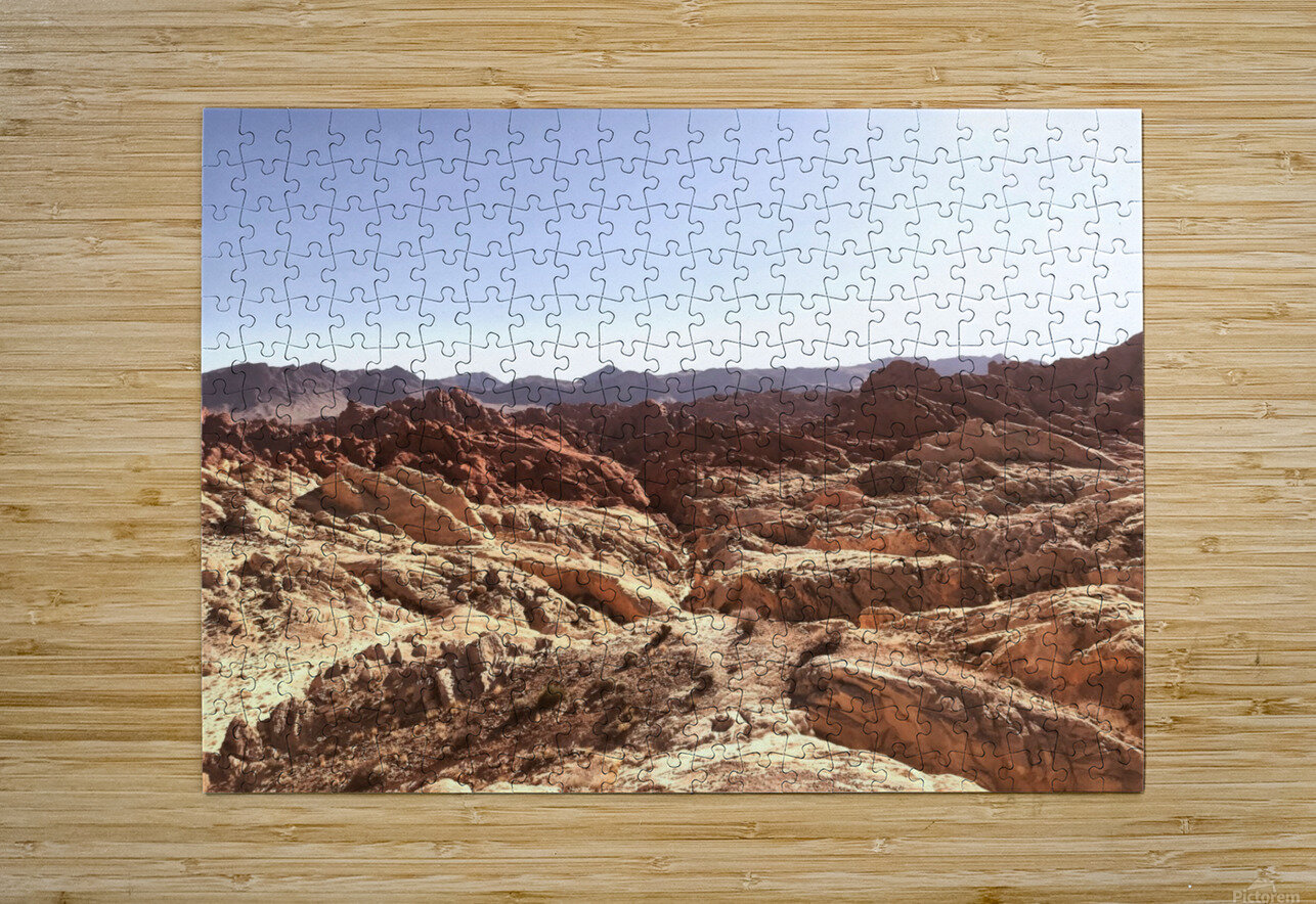 Canyon   HD Metal print with Floating Frame on Back