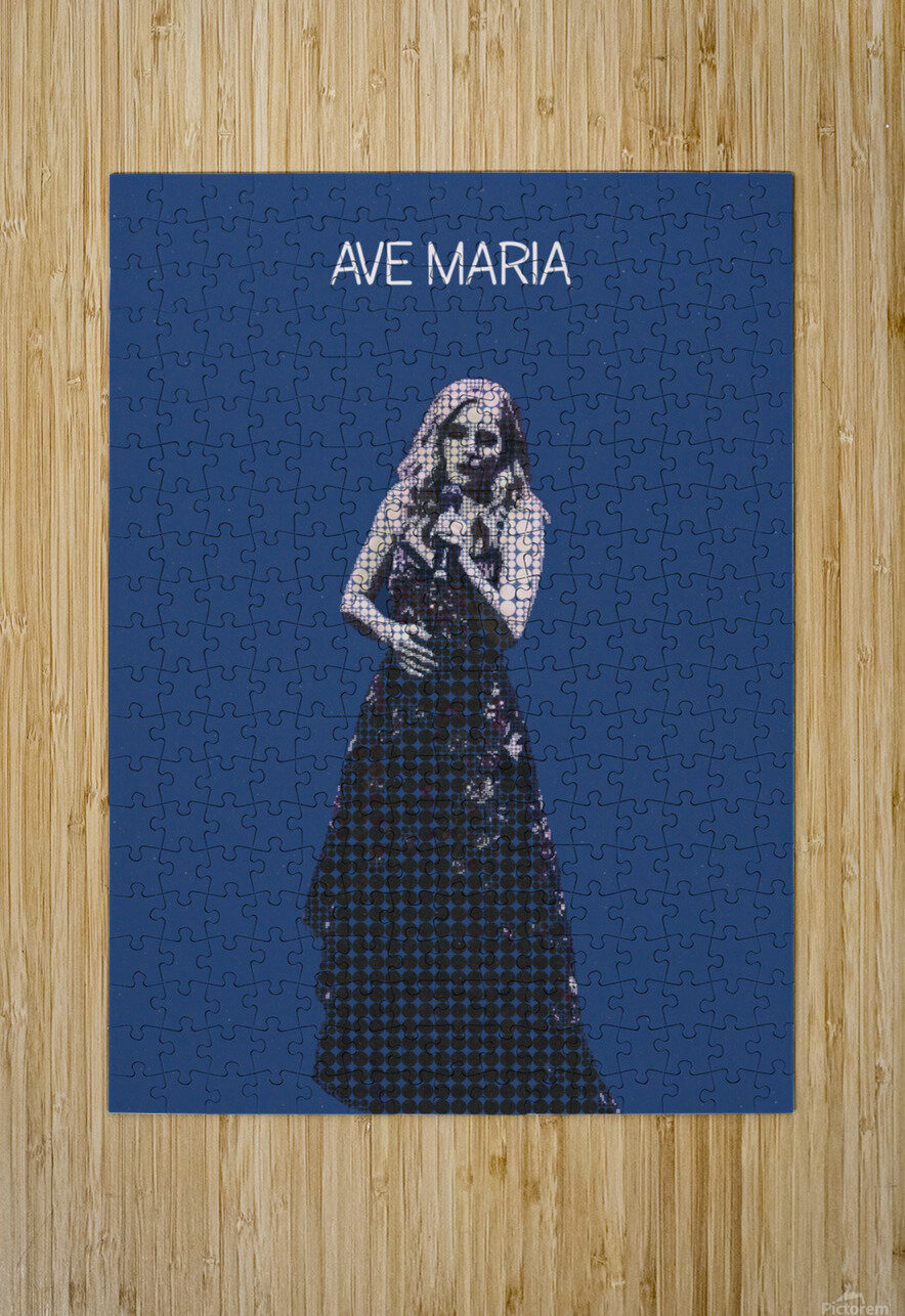Ave Maria   Jackie Evancho  HD Metal print with Floating Frame on Back