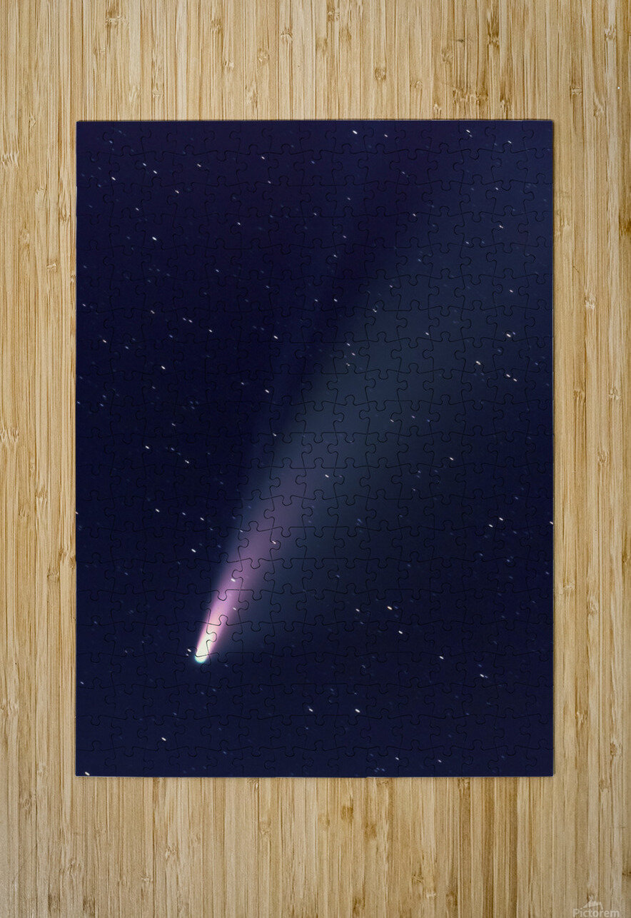 Neowise Comet 2020  HD Metal print with Floating Frame on Back
