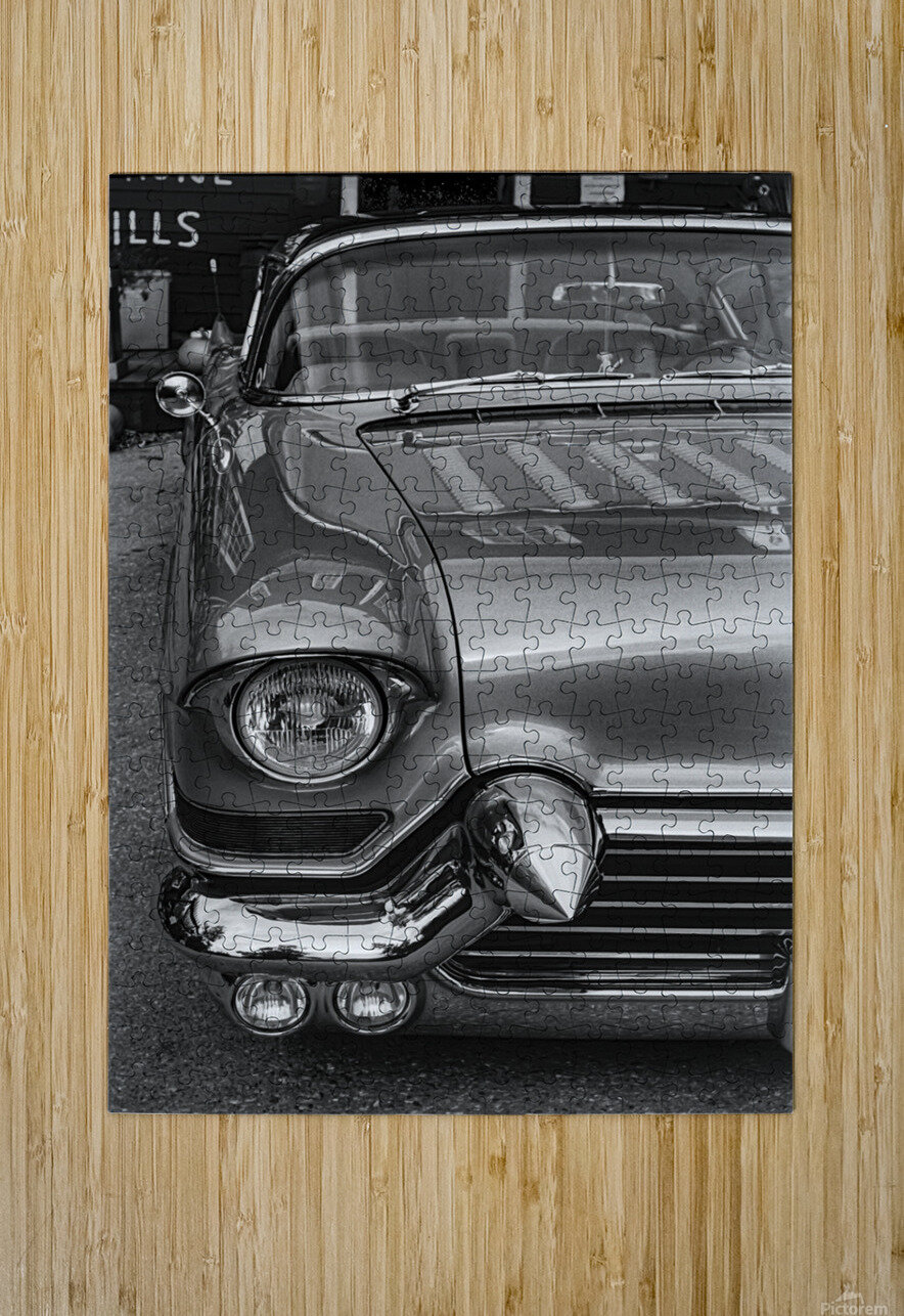57 Caddy Mojo  HD Metal print with Floating Frame on Back