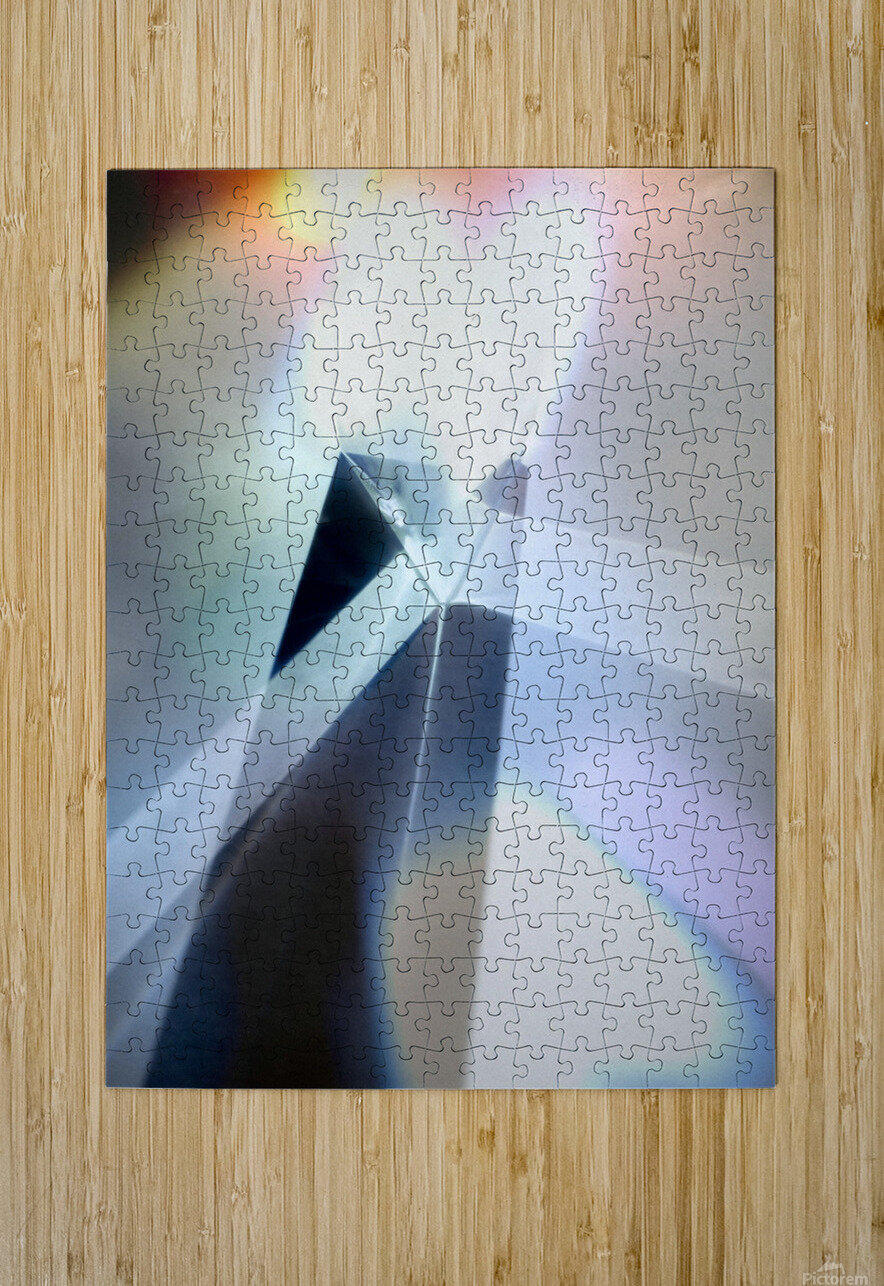 Abstract 1  HD Metal print with Floating Frame on Back