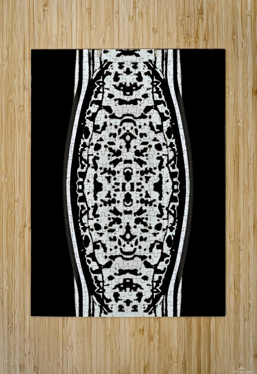 ShivaSakti II  HD Metal print with Floating Frame on Back