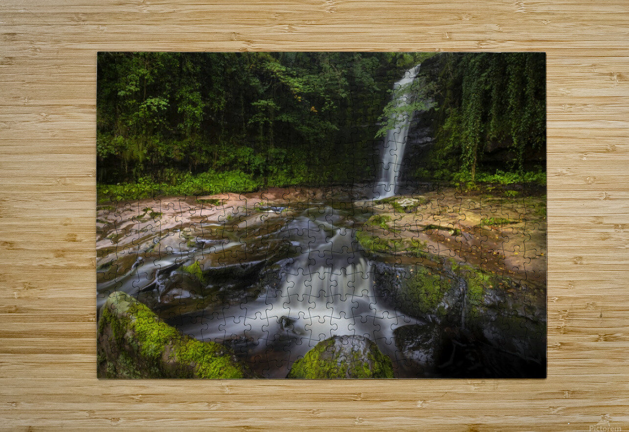 The beauty of Blaen y Glyn   HD Metal print with Floating Frame on Back