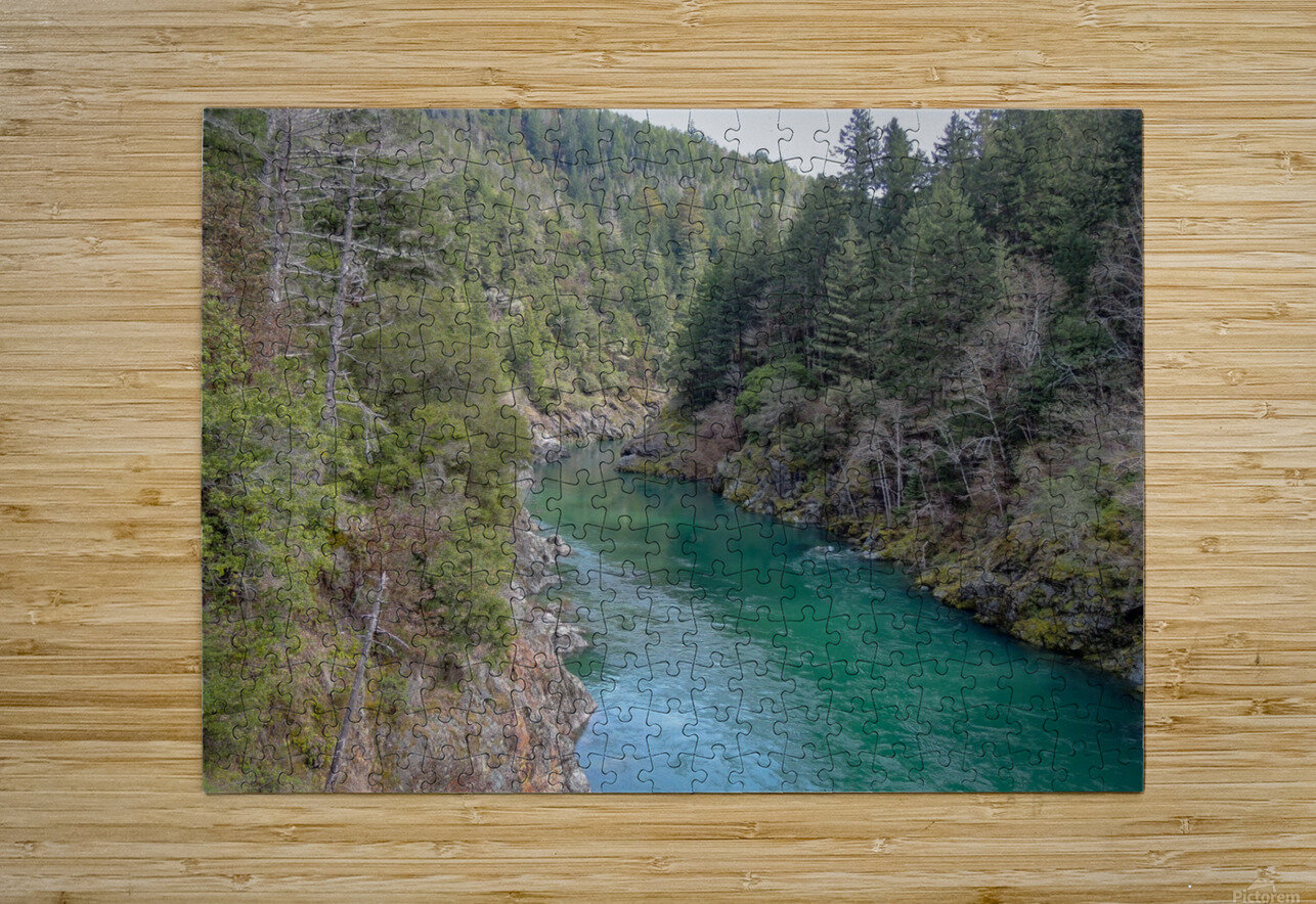Outside Crescent City  HD Metal print with Floating Frame on Back