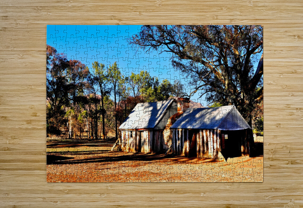 Old Wilpena Station   HD Metal print with Floating Frame on Back