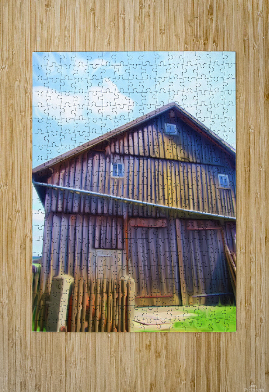 FMB2 - FARM LIFE  HD Metal print with Floating Frame on Back