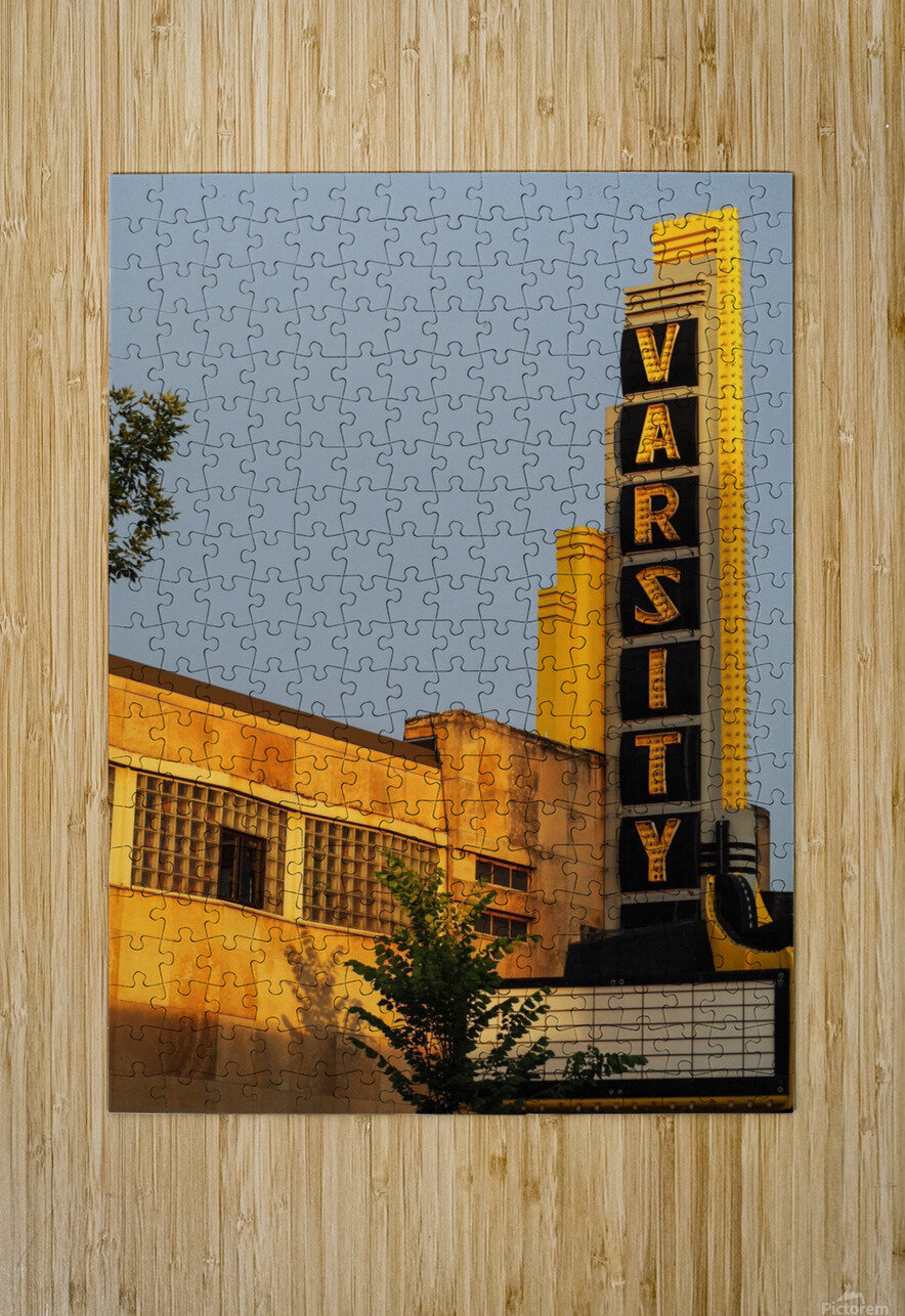 Varsity Theater   HD Metal print with Floating Frame on Back