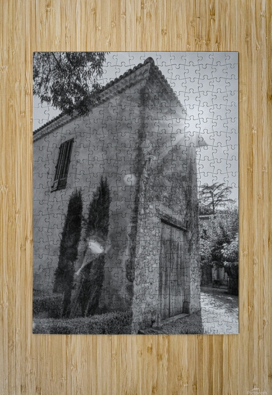 Provence  HD Metal print with Floating Frame on Back
