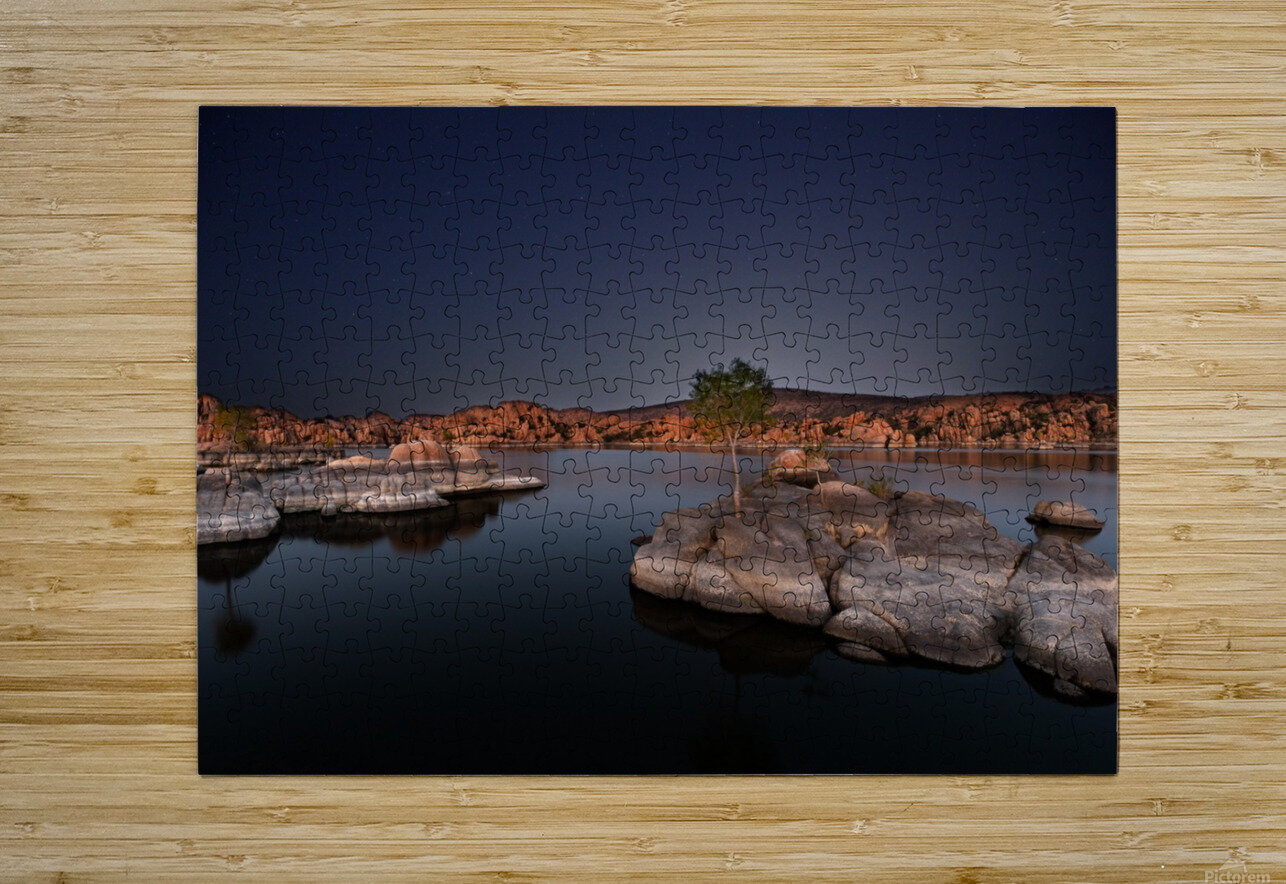 Midnight Fantasy  HD Metal print with Floating Frame on Back