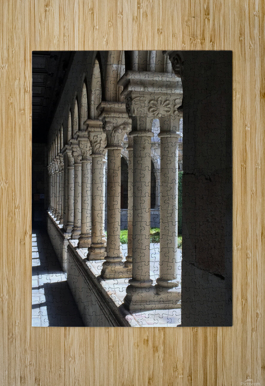 Pillars  HD Metal print with Floating Frame on Back