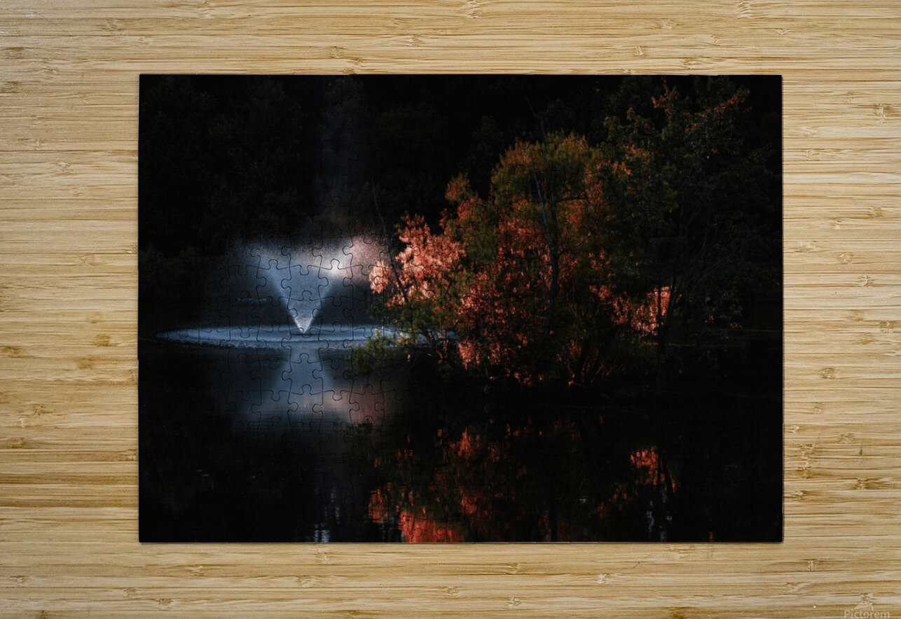 Alternate Moments  HD Metal print with Floating Frame on Back