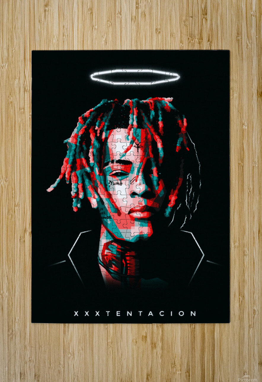 xxxtentacion  HD Metal print with Floating Frame on Back