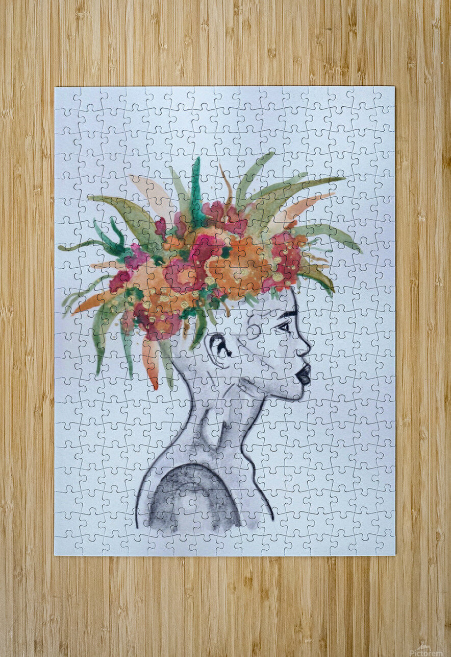 Crowned   HD Metal print with Floating Frame on Back