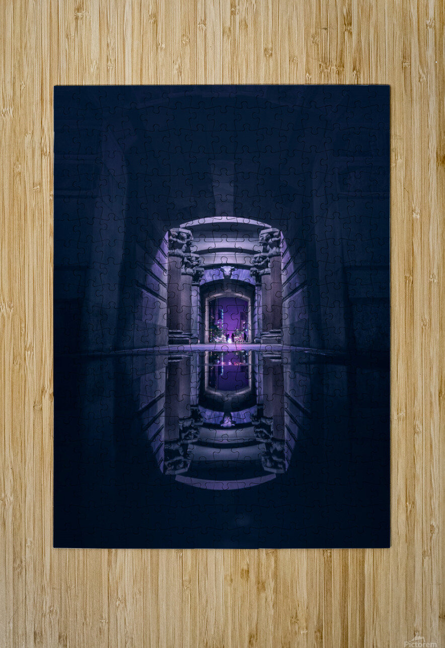 Ancient Generation  HD Metal print with Floating Frame on Back