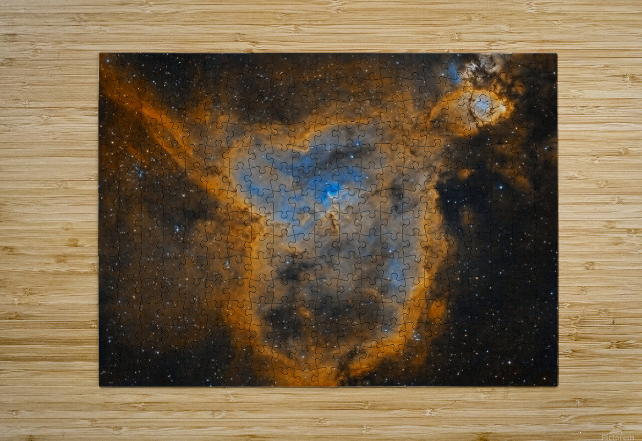 Heart Nebula  HD Metal print with Floating Frame on Back