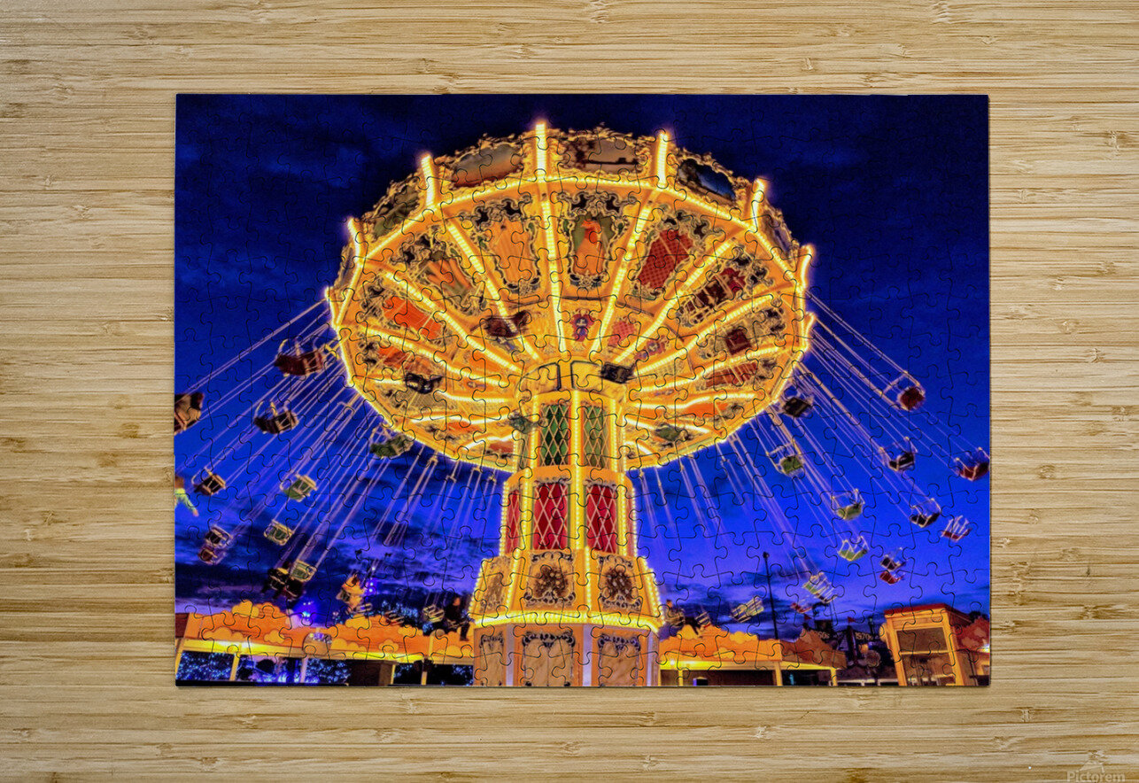 Carnival III  HD Metal print with Floating Frame on Back
