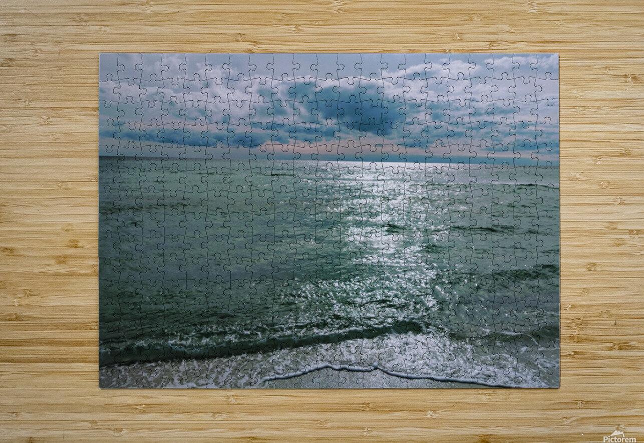 Serenity at Santa Rosa Beach  HD Metal print with Floating Frame on Back