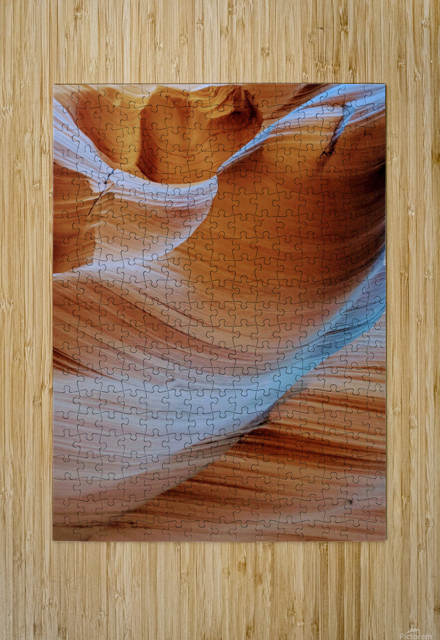 Ebb and Flow  HD Metal print with Floating Frame on Back