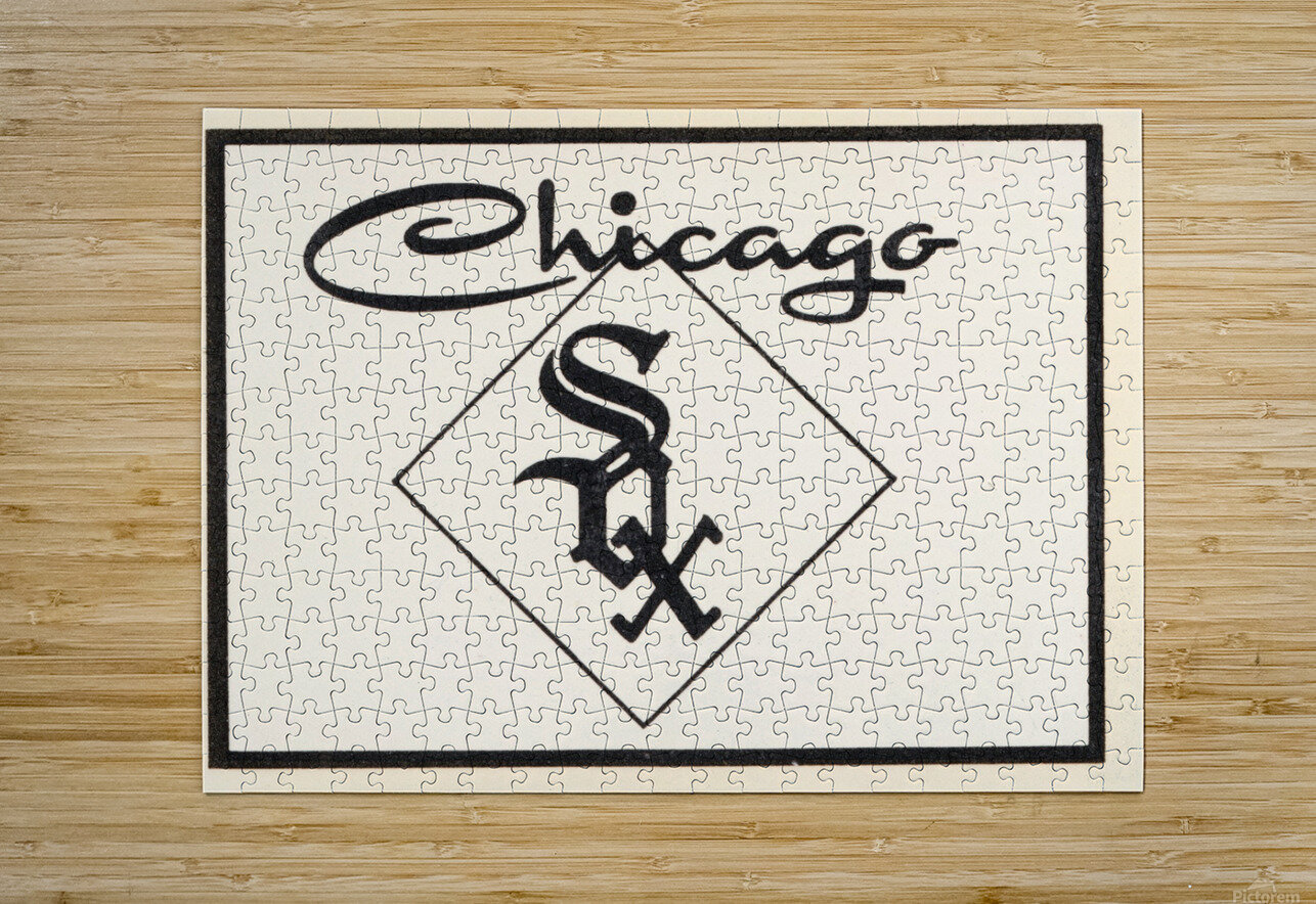1961 Chicago White Sox Art  HD Metal print with Floating Frame on Back