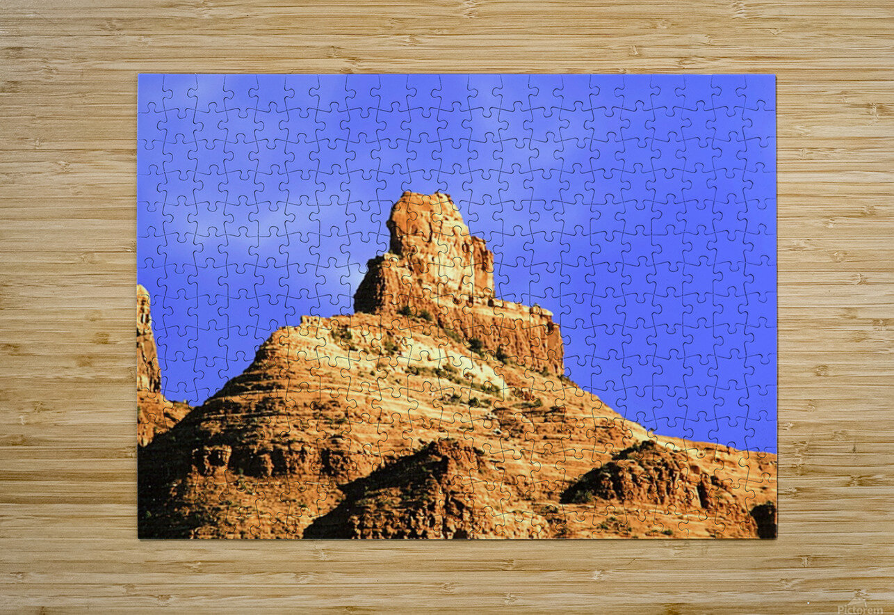 Sedona Red Rocks  HD Metal print with Floating Frame on Back