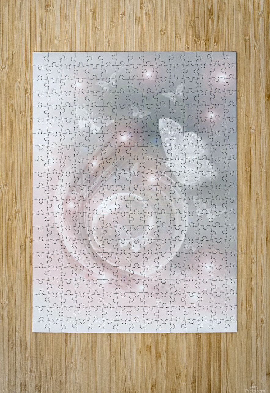 magical dream world of butterflies  HD Metal print with Floating Frame on Back
