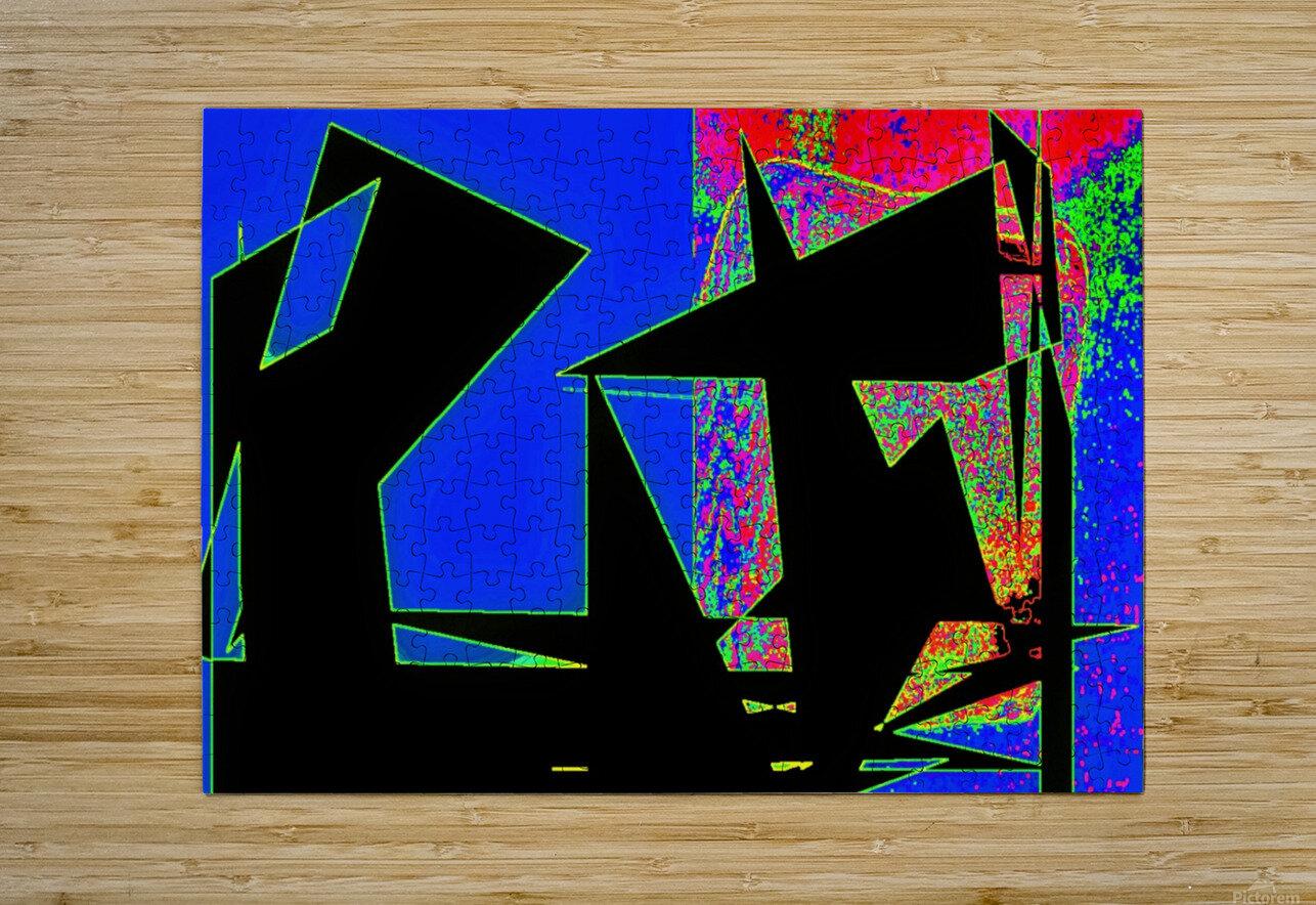 ComeTogetherOverME  HD Metal print with Floating Frame on Back