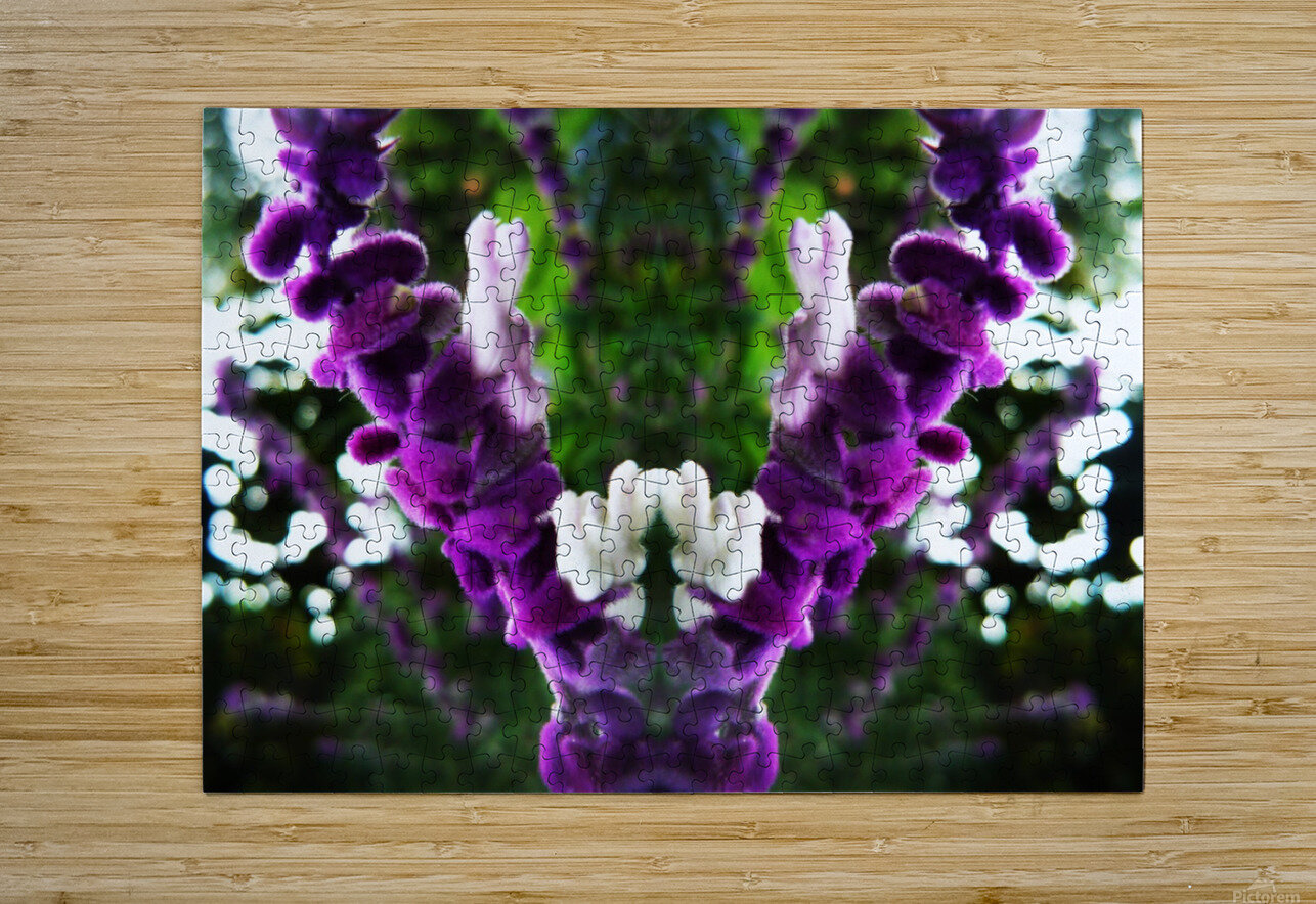 flower89  HD Metal print with Floating Frame on Back