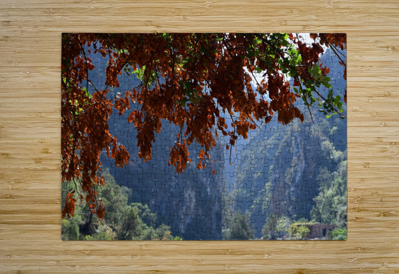 Akchour  HD Metal print with Floating Frame on Back