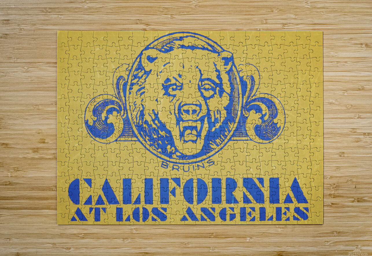1938 California at Los Angeles  HD Metal print with Floating Frame on Back