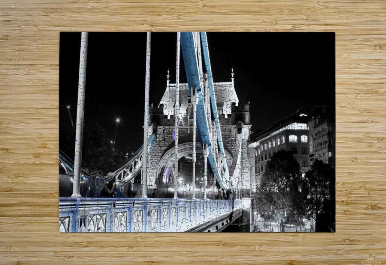 Tower Bridge  HD Metal print with Floating Frame on Back