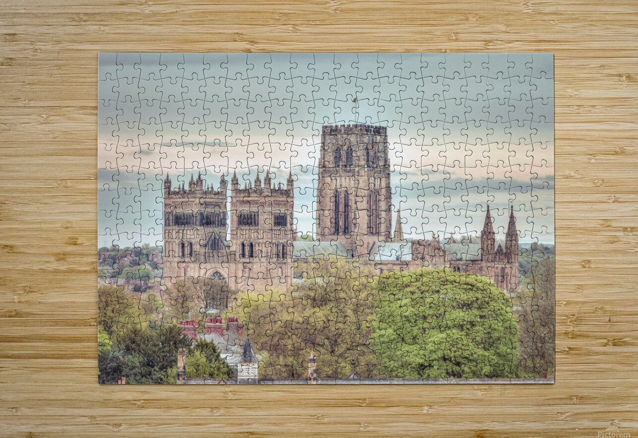 Durham Cathedral  HD Metal print with Floating Frame on Back