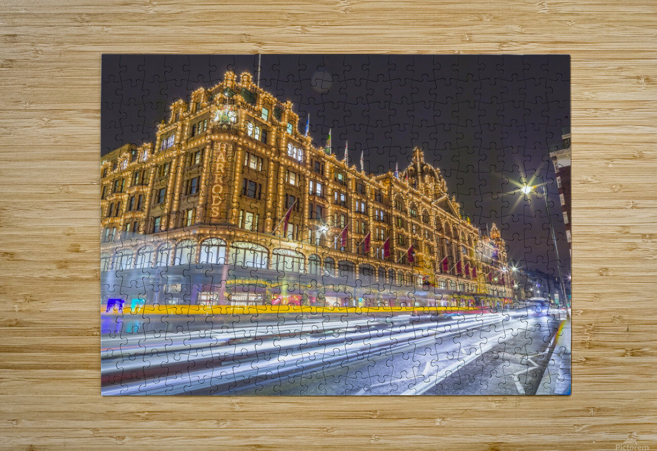 Harrods, London  HD Metal print with Floating Frame on Back