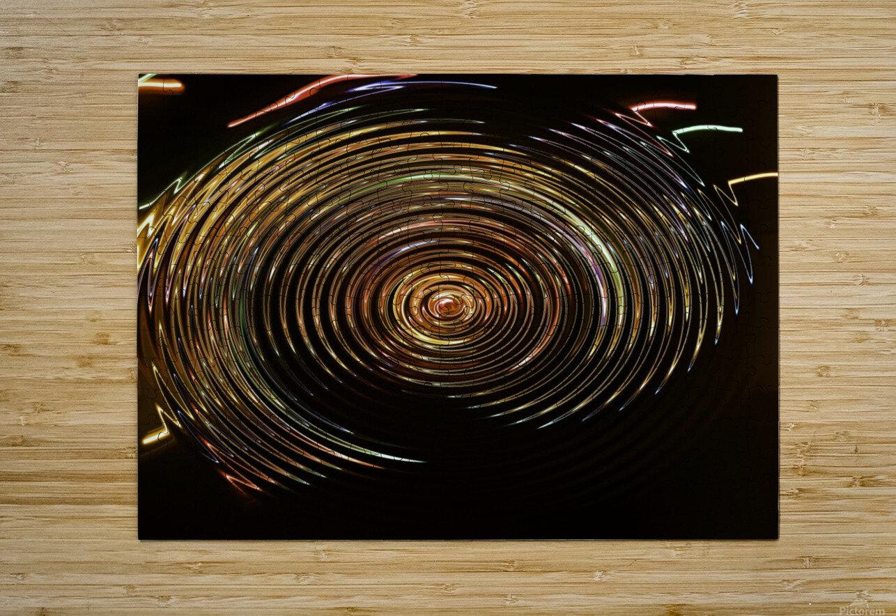 SKYWALKER  HD Metal print with Floating Frame on Back
