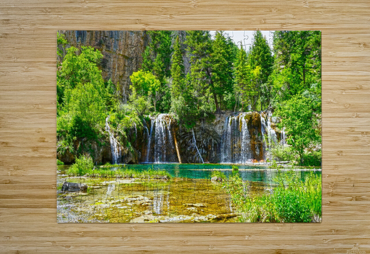 Beautiful Colorado  HD Metal print with Floating Frame on Back