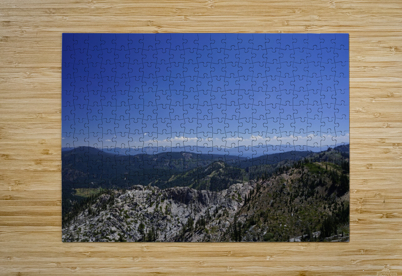 View from the Top @ Lake Tahoe  HD Metal print with Floating Frame on Back