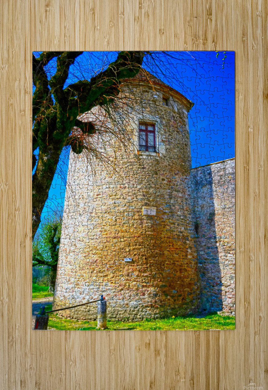 Secret Avallon 5 of 6  HD Metal print with Floating Frame on Back