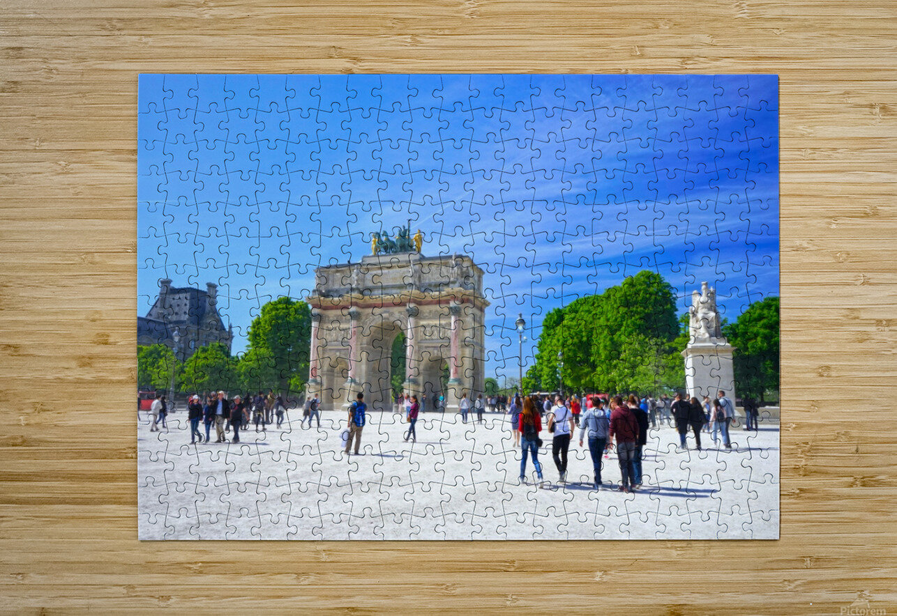 Immortal Paris 6 of 7  HD Metal print with Floating Frame on Back