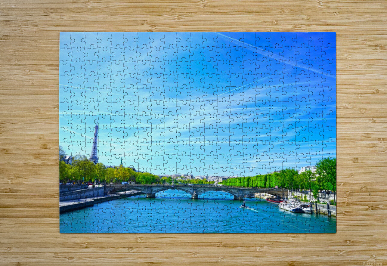 Immortal Paris 5 of 7  HD Metal print with Floating Frame on Back