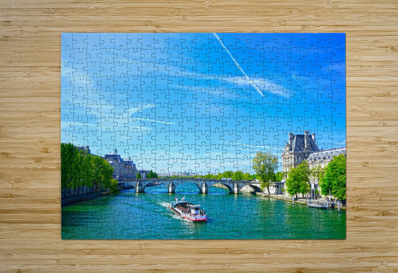 Paris Snapshot in Time 6 of 8  HD Metal print with Floating Frame on Back