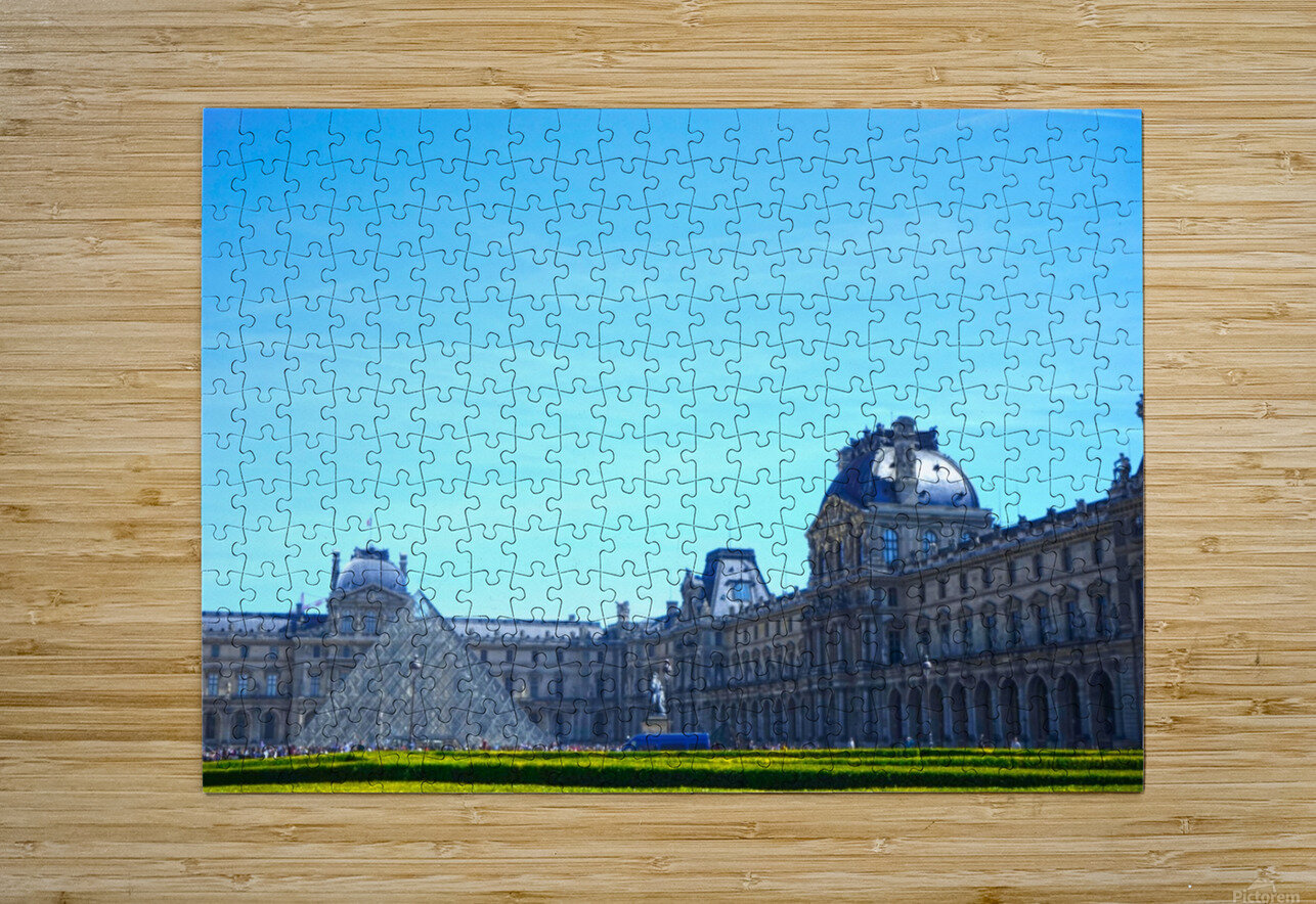 Paris Snapshot in Time 1 of 8  HD Metal print with Floating Frame on Back