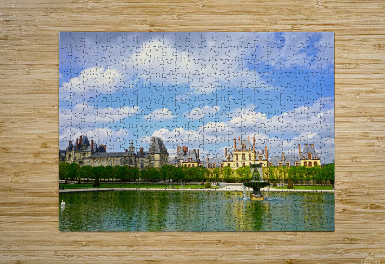 Chateaus of France 4  HD Metal print with Floating Frame on Back