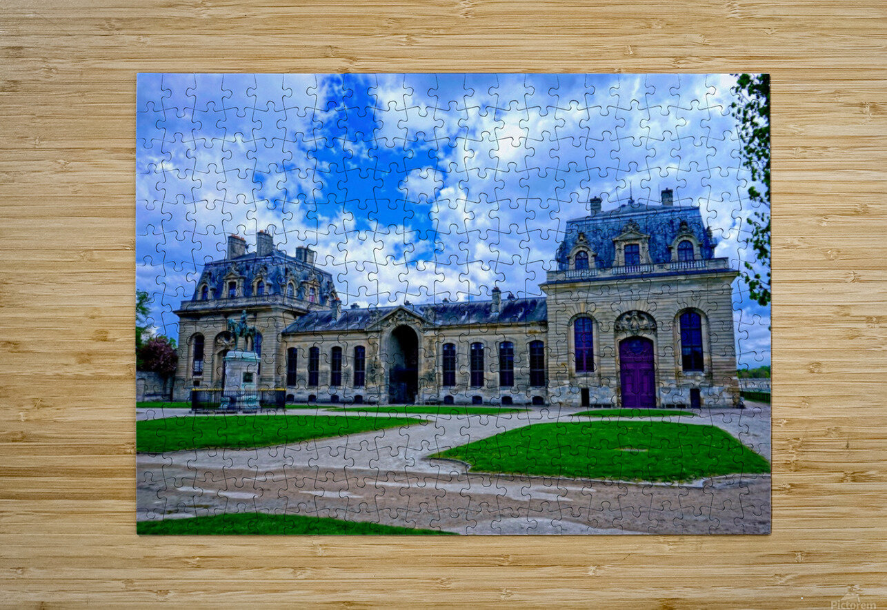 Chateaus of France 7  HD Metal print with Floating Frame on Back