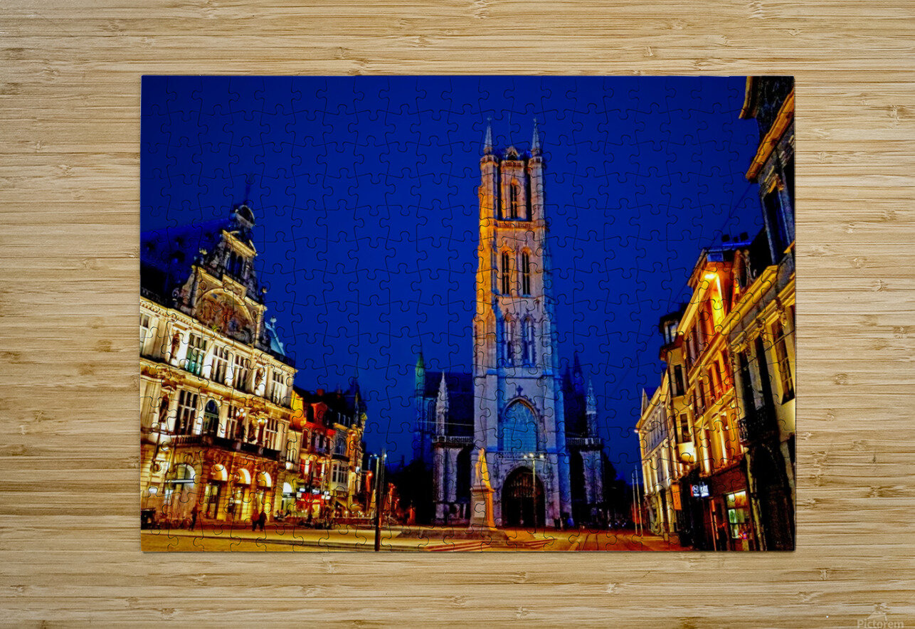 Beautiful Belgium 2 of 7  HD Metal print with Floating Frame on Back
